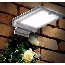 Lâmpada Solar 46 Leds - Sensor De Presença/movimento