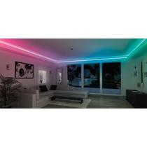Vários Kit Fita Led Rgb 5050 Ip65 Iluminação Sanca De Gesso