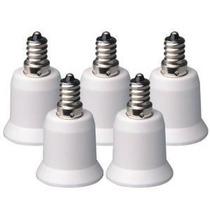 Soquete Adaptador Para Lâmpada, De: E12 Para: E27