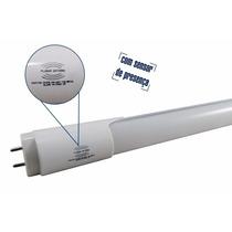 Kit 10 Lâmpada Led Sensor Tubular T8 Tubo 120cm 18w Branco