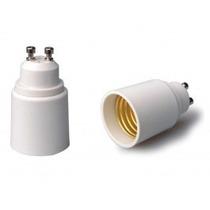 Adaptador/soquete Gu10 Para E27 Dicroica, Led