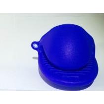 Luva Bico Térmica Silicone Pegador Forno Fogão- Azul