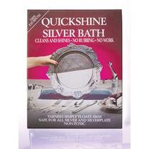 Prata Cleaner - 4x 50g Placas Quickshine Faqueiro Banheira
