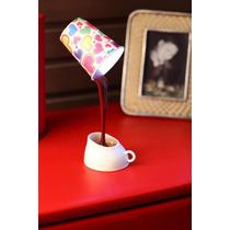 Luminária De Mesa Copo De Café - Lote Com 40 Unidades