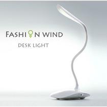 Luminária Touch, Sem Fio, 3 Níveis De Luz E 14 Leds