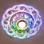 3w 90-260v Modern Flor Colorida Em Forma De Led De Cristal D