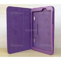 Capa Case Capinha Couro Roxa Tablet Lg G Pad 8.3 V500