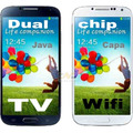 Celular Dual Chip Mp3d Java Wifi Touch Radio Tv Capa Gratis