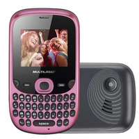 Celular Fit Desbloqueado, Tri Chip, Câmera 1.3mp,mp4 Player,