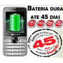 Celular Mox Full M45 2chip Powerbank Bat.durável Até 45 Dias