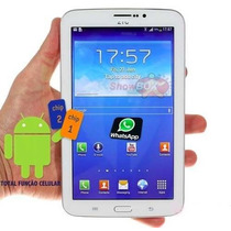 Tablet Celular Ztc / 3g / 2 Chips / Android 4.2 + 5 Brindes