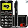 Smartphone Celular Dl Yc110 Para Idoso Tela Tft 2g