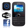 Celular Alcatel One Touch 3075m Wi-fi Facebook Mp3 Qwerty 3g