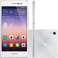 Celular Huawei Ascend P7 L10 Câmera Frontal 8mp, 4g - Branco
