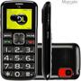 Telefone Celular Dl Yc110 Para Idoso Vga Resolução 128 X 160