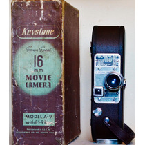 Keystone- Filmadora Funcionando - Na Caixa + Projetor Bom