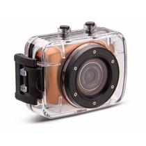 Camera Digital Action Camcorder Sports A Prova Dágua Hd720p
