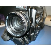 Filmadora Super 8mm Sonora Yashica Sound 50 Xl