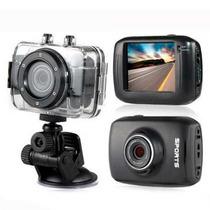 Mini Câmera Filmadora Sports Hd Carro Bike Moto Prova D