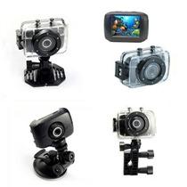 Camera Digital Hd720p Action Camcorder Sports A Prova Dágua