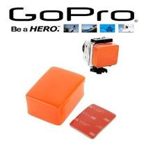 Gopro Bóia Go Pro Floaty Flutuante - Acessorio Suporte