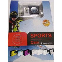 Sports Cam Waterproof 30m Câmera Filmadora Digital Hd 1080p