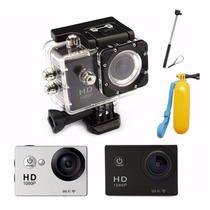 Camera Wi-fi Esporte Filmadora Fullhd 12mp Monopod Flutuante