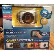 Camera Hd Powerpack Dv-200 - Filma/fotografa - Prova D