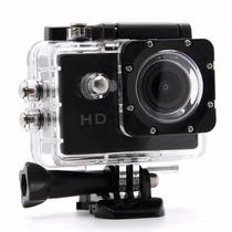 Mini Câmera Filmadora Sports Hd 720p + Acessórios P. D´água