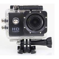 Camera Wifi Fullhd Moto Capacete Mergulho Display Suportes