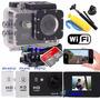 Sports Cam X4000 Wifi Hd Prova Dagua+16gb+boia+bastao+tripod