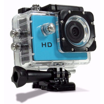Filmadora Câmera Capacete Esporte Mergulho Bike Moto Top Hd