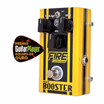 Pedal Fire Custom Shop Power Booster Gart 3anos Nfisc Env24h