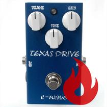 Pedal Amw Wave Texas Drive . Guitarra Baixo Violão . Loja