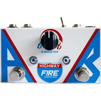 Pedal Guitarra Baixo Fire Ab Box Highway Booster 3 Anos 12 X