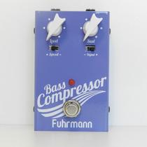 Fuhrmann Bass Compressor - Pedal Para Contrabaixo + Cabo P10