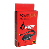 Fonte Para Pedal Power One 18v Fire Custom Shop