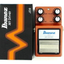 Pedal De Efeito P/ Guitarra Distortion Jet Driver Jd9 Ibanez