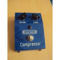 Pedal Para Guitarra Fuhrmann Compressor