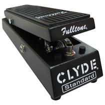Frete Grátis - Fulltone Clyde Standard Wah Pedal P/ Guitarra