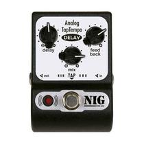 Analog Tap Tempo Pedal De Delay P/ Guitarra - Nig