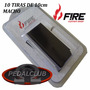 Velcro Fire Tiras Pedal Pedais Fonte Pedalboard Case Mesa