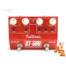 Pedal Fulltone Gt 500 Overdrive Distortion Booster - Loja