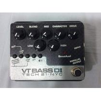Pedal Tech 21 Vt Bass Di Made In Usa Novo