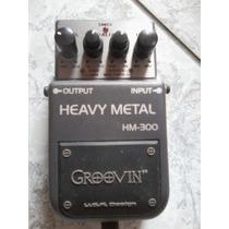 Pedal Groovin Hm-300 Heavy Metal P/ Guitarra