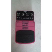 Pedal De Guitarra Behrinher Super Metal Sm400