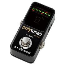 Tc Electronic Polytune 2 Noir Preto Afinador Guitarra Baixo
