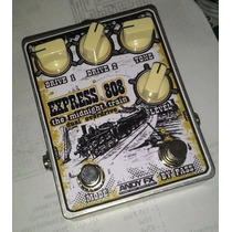 Pedal Andy Express 808 Dual Tube Screamer Trocas 2