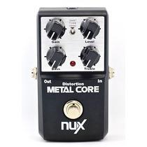 Pedal Nux Metal Core Distortion Guitarra Frete Grátis