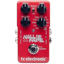 Pedal Tc Electronics Hall Of Fame - Novo Na Caixa
